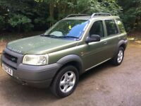 Land Rover Freelander 1.8 Cheap reliable 4x4