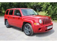 1 Owner From New 2008 Jeep Patriot Only 66,000 Miles Red Diesel £4295