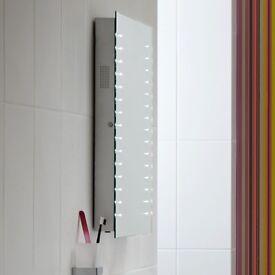 Bathstore Link Bluetooth enabled LED illuminated mirror