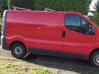 Cheap Vauxhall vivaro van £1495