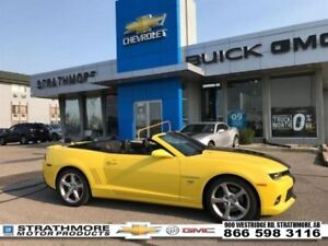 2015 Chevrolet Camaro Convertible SS2-Low km-Loaded  - Certified