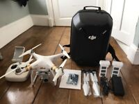 DJI Phantom 3 Professional w/Spare Battery and DJI Official Backpack - Used