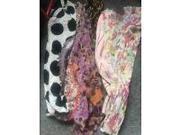 Joblot 14 women's scarves & 3 hats £5 for all!