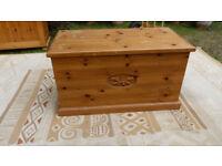 large wooen box