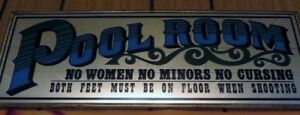 Mirror Pool Room sign