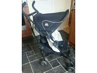 Maclaren volo lightweight stroller with rain cover