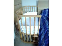 Baby bay maxi great condition includes mattresses, bumper etc