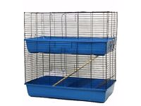 2 tier indoor rabbit hutch