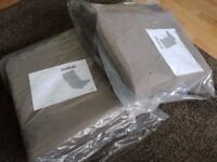 POANG Ikea cushion and cover ( Brown )