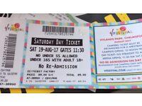 2 V FESTIVAL tickets Hylands Park Chelmford Sat 19th August 2017.