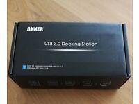 Anker usb 3.0 docking station, never used