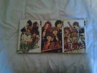 Saiyuki Reload manga (Volumes 1-3)