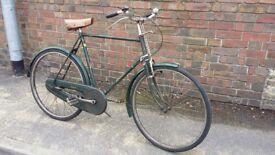 Raleigh Superbe Vintage Mens 3 speed Bike