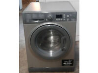V116 graphite hotpoint 8kg&6kg 1400spin A rated washer dryer comes with warranty can be delivered