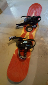 Snowboard and Boots *best offer*