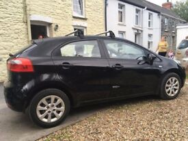 2012 Kia Rio, 5-Door hatchback, Black, Excellent condition inside and out. Bluetooth/USB/handsfree