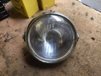kawasaki z750 twin headlight 1970's
