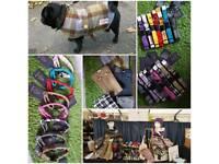Various Harris Tweed items