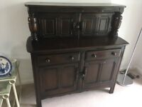 Solid wood dresser - Ercol. Ideal for storing crockery and glassware