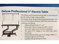 Deluxe Professional 5* Electric Dog Grooming Table