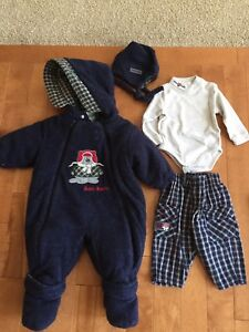 Baby Boots fall to winter outfit