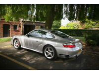 Porsche 911 (996) Turbo, Manual, Black interior