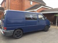 Volkswagen Transporter with a years MOT, Diesel, 1998.