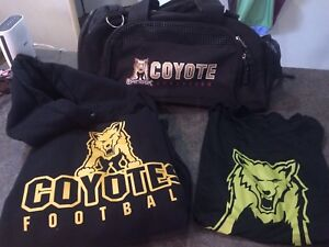 Coyote football gear