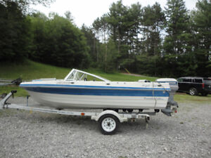14 ft Bowrider w/50 hp evinrude motor