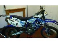 Yamaha wr400f, Enduro, motorbike 12m MOT
