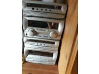 LG 3 CD stereo system