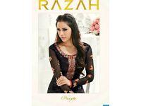 RAZAH NOORIE WHOLESALE STRAIGHT LONG SALWAR SUITS