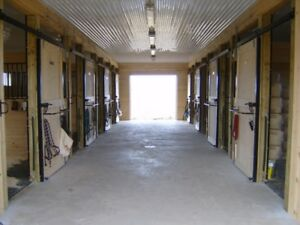 Horse boarding, small quiet facility
