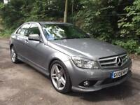 MERCEDES-BENZ C220 AMG SPORT 2008 12 MONTHS MOT FULL LEATHER..