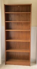 Wooden Bookcase Shelving Unit