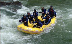 Zebec River Raft with full wrap and glue-in 420R (SB)
