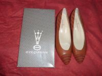 Empress quality leather shoes.