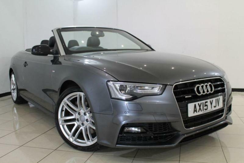 2015 15 AUDI A5 3.0 TDI QUATTRO S LINE SPECIAL EDITION PLUS 2DR AUTOMATIC 242 BH