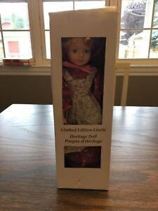 Limited edition heritage doll