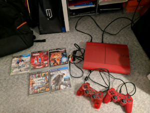 Red PS3 468 GB