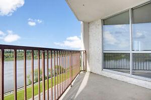 River/City Views. 2 bedroom 2 bathrooms. Call 306-314-0214
