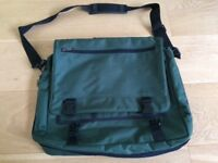 Bottle green Laptop Bag/Satchel