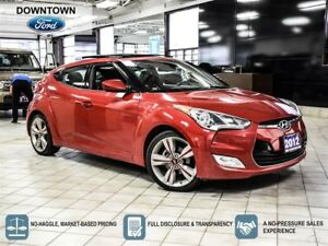 2012 Hyundai Veloster Tech package, Navigation, Moonroof, Backup
