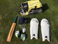 Full cricket gear