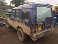 Land Rover discovery alpine/roof glass