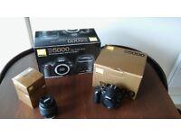 Nikon D5000 12.3MP Digital Camera / 18-55II Kit / AF-S DX Zoom-Nikkor 18-55 f/3.5-5.6G ED II