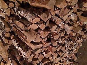 "Quality Seasoned Birch Firewood  $35 per 100lb bag ""Call Now"""
