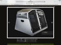 Trans K9/B34 Dog Cage 9 months old with bumper mat