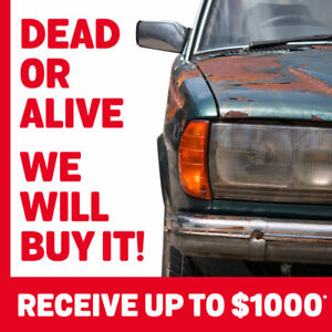 WE WILL BUY IT! DEAD OR ALIVE!
