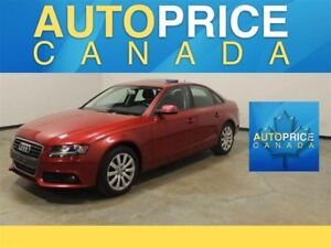 2010 Audi A4 QUATTRO|MOONROOF|LEATHER